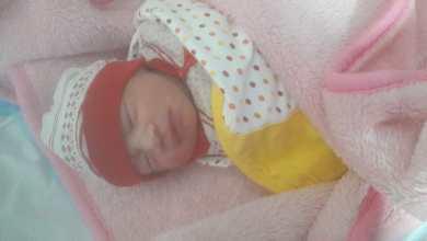 صورة مولود اليوم: الطفلة جوليا احمد.