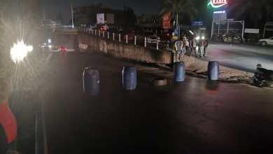 Photo of قطع طريق النبطية