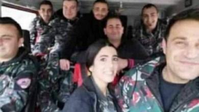Photo of الصورة الأخيرة لعناصر الدفاع المدني قبل استشهادهم