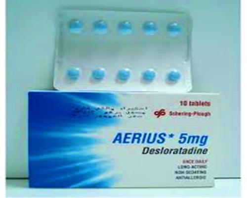 أيريوس حبوب لعلاج الحساسية والحكه حبوب Aerius للزكام دواء