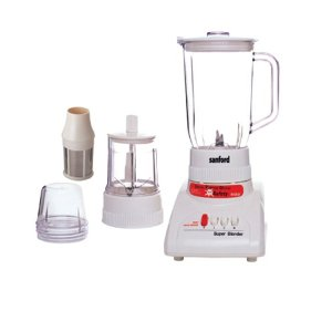 Sanford 3 In 1 Blender Sf5520br White