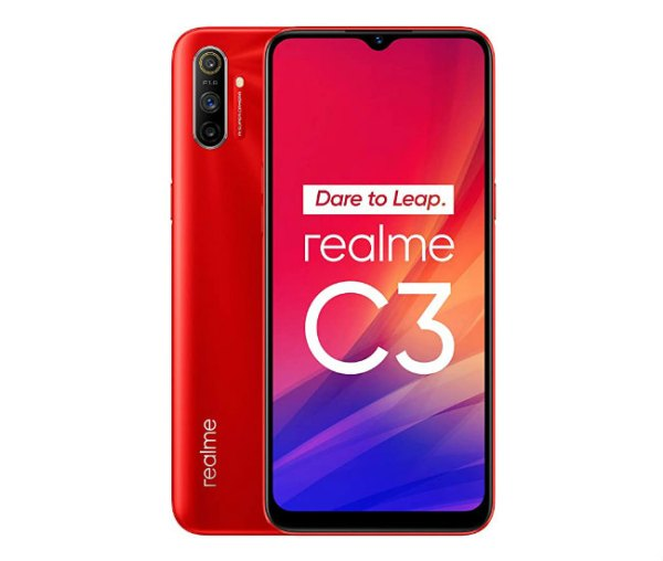 Realme C3 3GB 64GB – Blazing Red/Frozen Blue