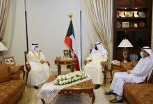 صورة نائب وزير الخارجية التقى سفيري البحرين ومصر