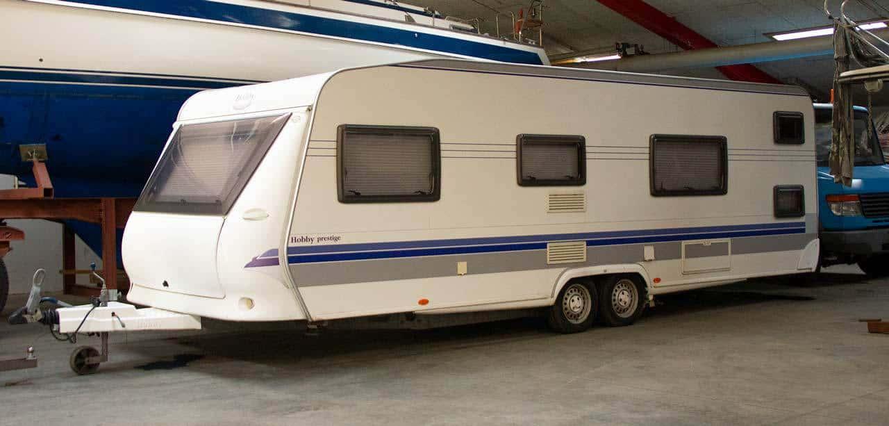 Opbevaring Af Campingvogn Hele Aret Hos Alshaller Dk