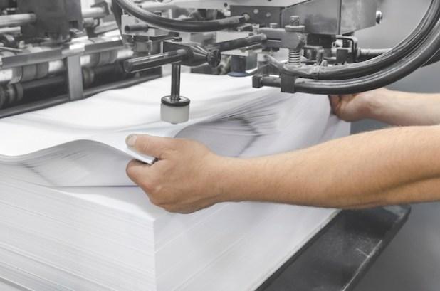 تطور صناعة الورق
