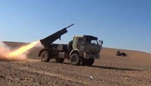 صورة معارك بين جيش اسود الشرقية وتنظيم داعش بريف السويداء