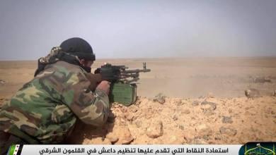 صورة الجيش الحر يسيطر على عدة نقاط في جبال القلمون الشرقي