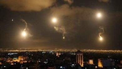 Photo of الطيران الاسرائيلي يستهدف عدة مواقع في دمشق