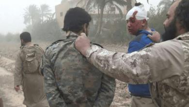 """صورة ديرالزور… الإعدام """"بالخازوق"""" لعناصر من قسد أسرى لدى داعش"""