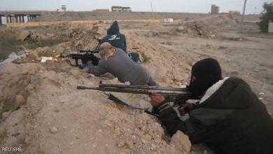 صورة هجمات جديدة لداعش تطال قوات النظام في مدينة البوكمال