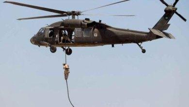 صورة انزال جوي للتحالف الدولي قرب البصيرة يُسفر عن مقتل أحد أمراء داعش