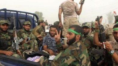 صورة 20 قتيلاً من الميليشيات الإيرانية ببادية البوكمال