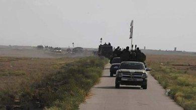صورة تعزيزات عسكرية كبيرة لقوات النظام من دمشق تصل بادية ديرالزور