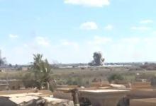 صورة للمرة الأولى منذ انتهاء سيطرة تنظيم داعش، غارة جوية مجهولة تستهدف مناطق سيطرة ميليشيا قسد قرب الباغوز