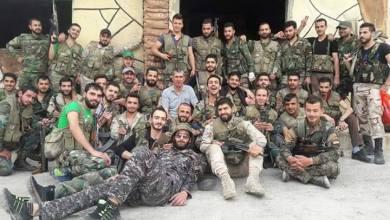 صورة إنشقاق 20 عنصراً من الفرقة الرابعة في ديرالزور وعبورهم إلى مناطق ميليشيا قسد