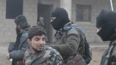 صورة أسرى من ميليشيات نظام الأسد بكمين لداعش في البادية الشامية