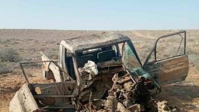 صورة رغم الحملة العسكرية الكبيرة، داعش يهاجم رتلاً لميليشيات نظام الأسد في بادية حماة