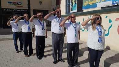 صورة 40 مندوب عن وزارة تربية وتعليم الأسد استقدموا إلى ديرالزور بعد قيام قائد ميليشيا الدفاع الوطني بضرب كادر إحدى المدارس
