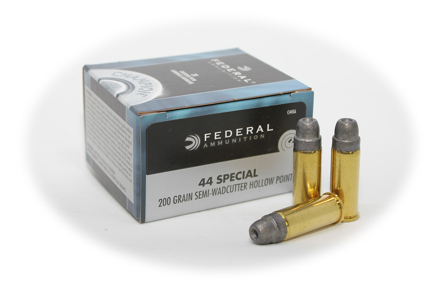 Federal 44 Special 200gr Semi-Wadcutter Hollow Point C44SA