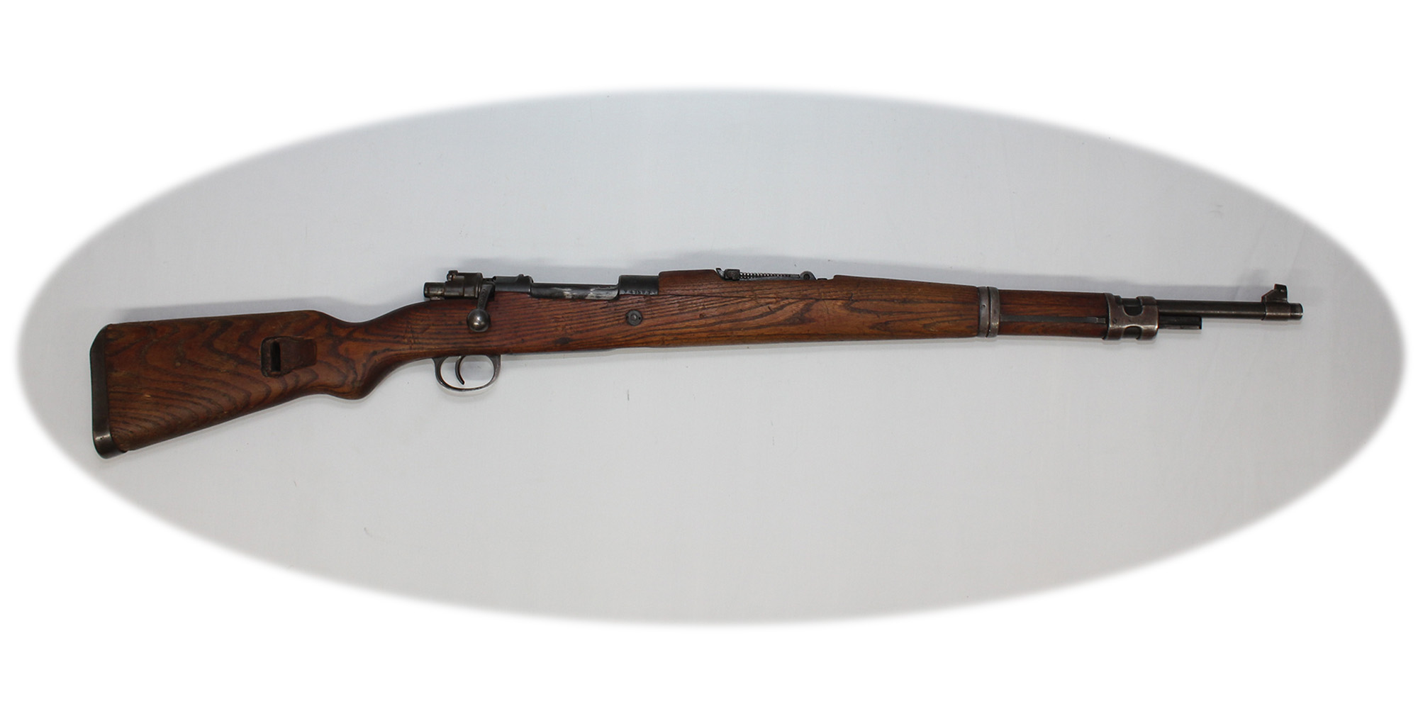 Used Syrian/Yugo Mauser M48 Bolt Action 8mm Rifle 8232NC