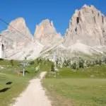 Plattkofel: Dolomiten von oben auf fast 3000 Metern