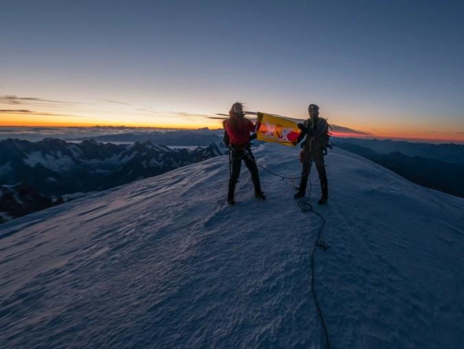 Mont Blanc Gipfel