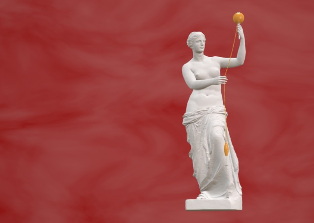 Venus De Milo with arms