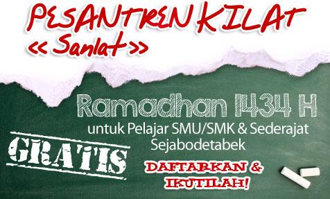 Pesantren Kilat Ramadhan 1434 H
