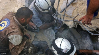 40 Syahid Kurban Serangan udara Rusia Terhadap Kota Aleppo – Suriah