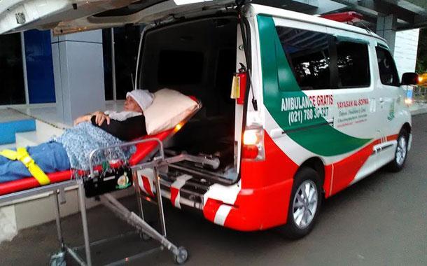 Pemanfaatan Ambulans Periode Oktober 2017