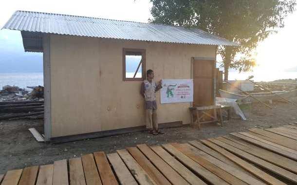 Membangun Hunian Sementara di Palu dan Donggala