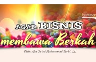 Agar Bisnis Membawa Berkah