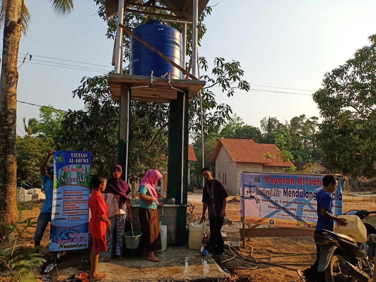 Laporan Penyaluran Program Berbagi Air Mendulang Pahala
