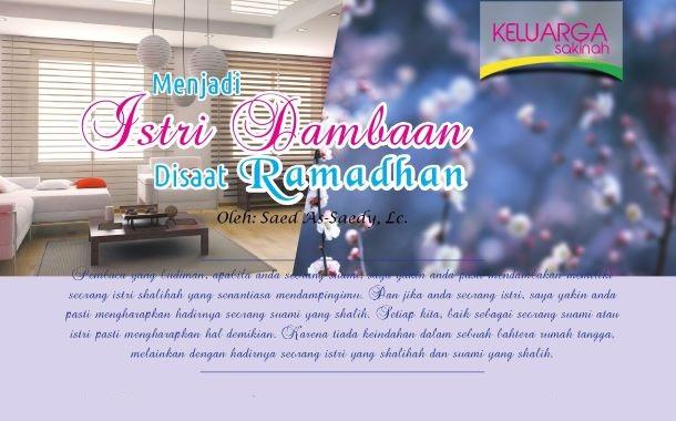 Menjadi Istri Dambaan Di Saat Ramadhan