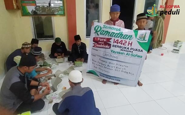 Satu Porsi Untuk Saudaraku di Saribumi Lampung