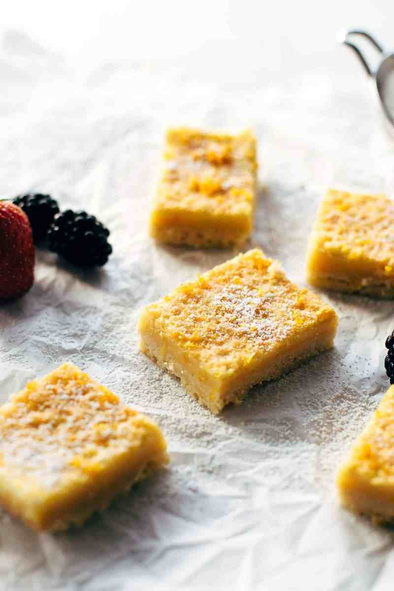 Irresistible Orange Curd Bars