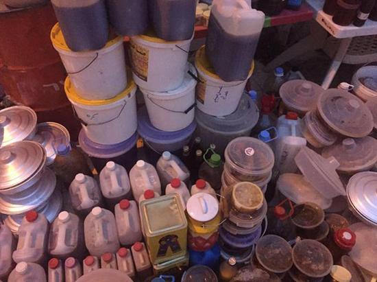 اتلاف أكثر من 1200 كيلو من العسل المغشوش في أبها
