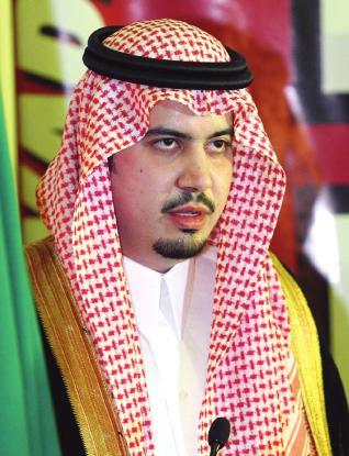 الأمير عبدالحكيم بن مساعد نائباً لرئيس الاتحاد الآسيوي للبولينج