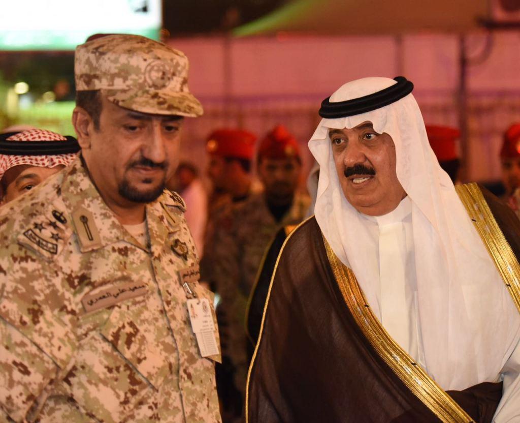 متعب بن عبدالله يتفقد قوات الحرس في المشاعر المقدسة