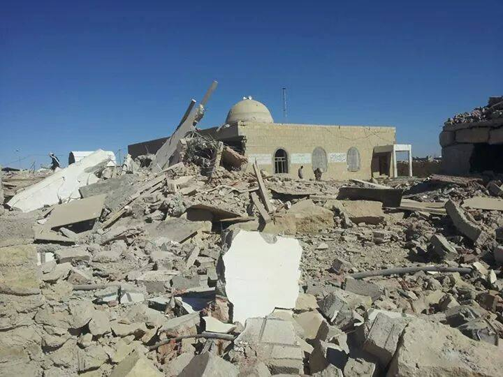 رصد جرائم عصابة الحوثي بحق العلماء والمساجد