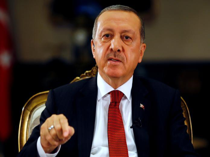 أردوغان يطالب بمنطقة آمنة في سوريا وهدنة قبل عيد الأضحى
