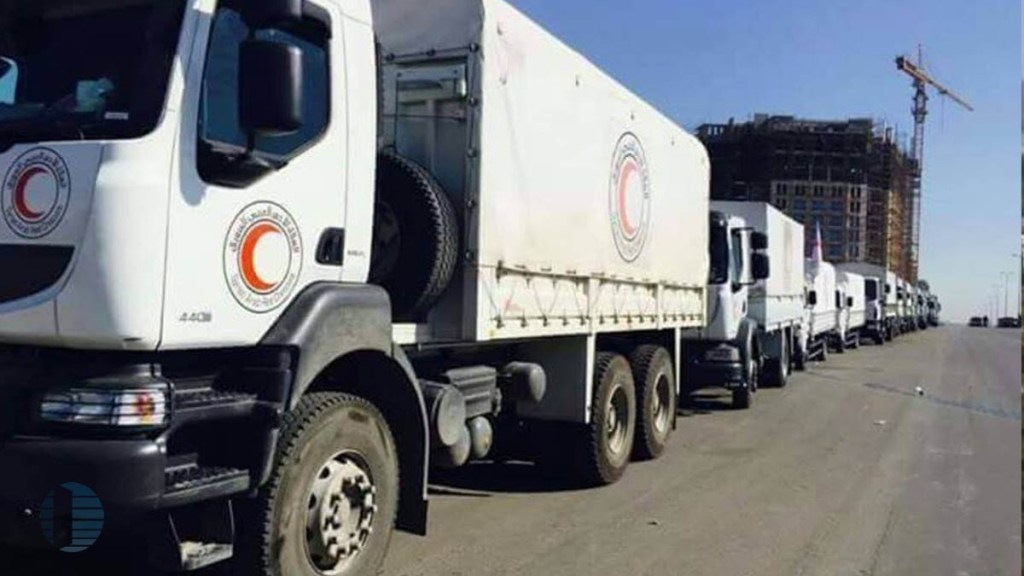 إرسال قافلة مساعدات تركية إلى حلب