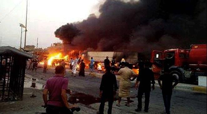 قتلي وجرحى في بغداد