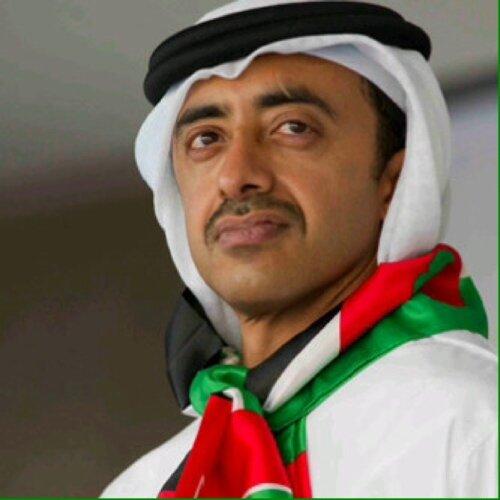 وزير الخارجية الإماراتي يلتقي المفوض العام لـ