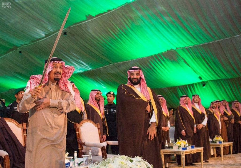 خادم الحرمين الشريفين يشرف حفل أهالي منطقة تبوك