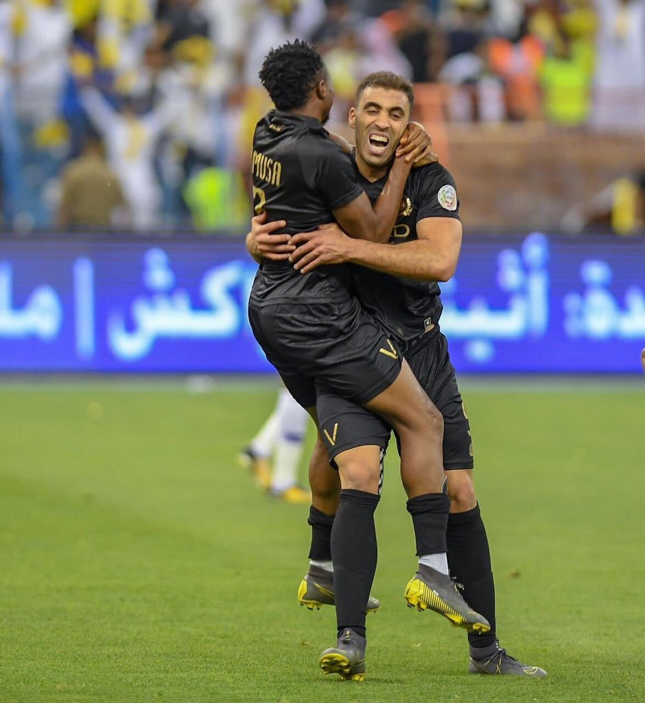 في ديربي الرياض النصر ينتزع الصدارة بهدف قاتل