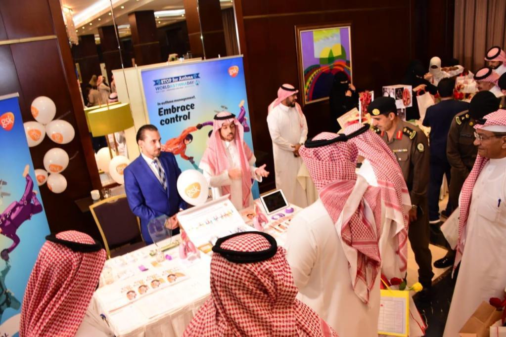 المستشفى يعالج اكثر من 75% حالة درن ..مدير مستشفى الملك سعود يدشن فعاليات اليوم العالمي للربو والدرن