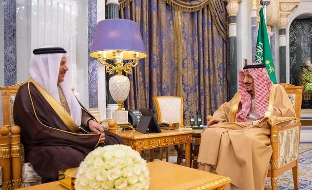 خادم الحرمين الشريفين يشكر الزياني على جهوده في مسيرة مجلس التعاون الخليجي