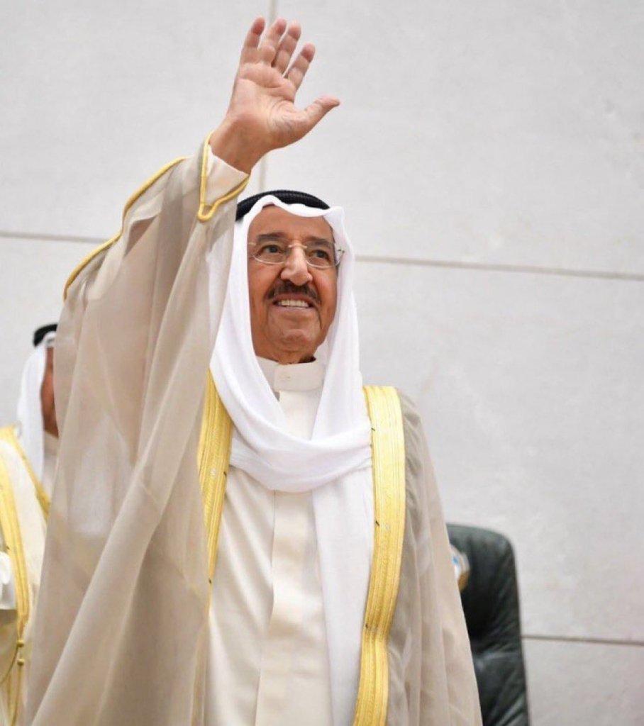 الديوان الأميري الكويتي:وفاة الشيخ صباح الأحمد