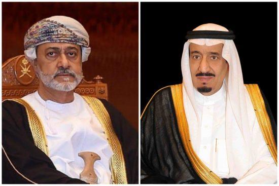خادم الحرمين الشريفين يوجه الدعوة إلى سلطان عمان لحضور قمة الرياض